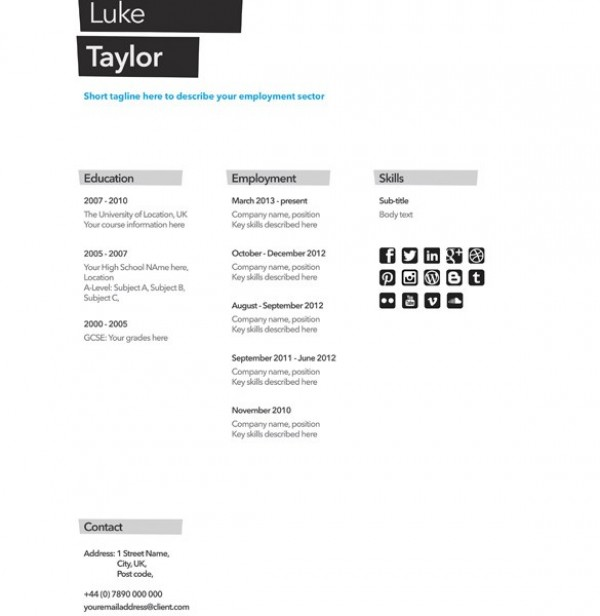 2 resum cv cover letter templates set psd welovesolo web unique ui elements ui template stylish simple resume quality psd professional original new modern interface yelopaper Image collections