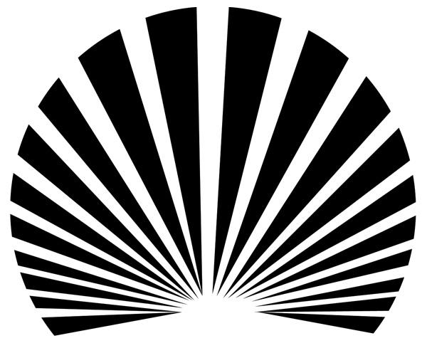 Sunrays Sun Burst Striped Layout PSD - WeLoveSoLo