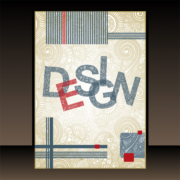 Free PDF Down: Creative Book Cover Design Template