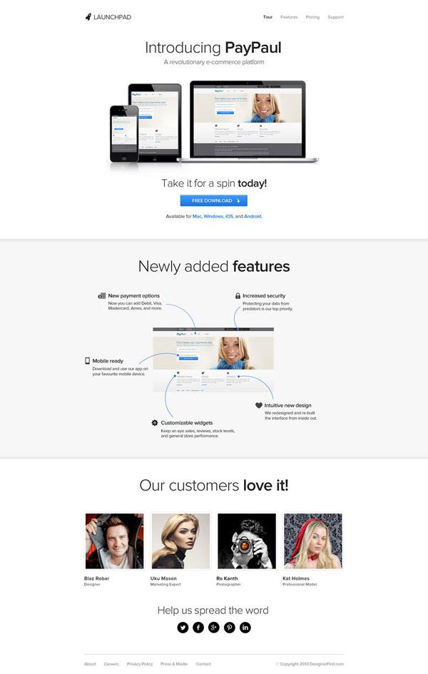 website template free
