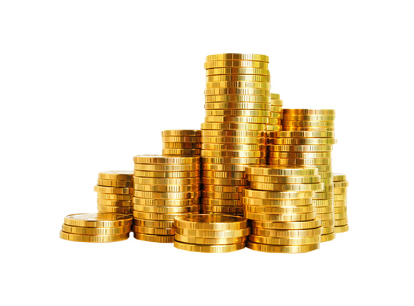 Stacked Pile Of Gold Coins Money Welovesolo