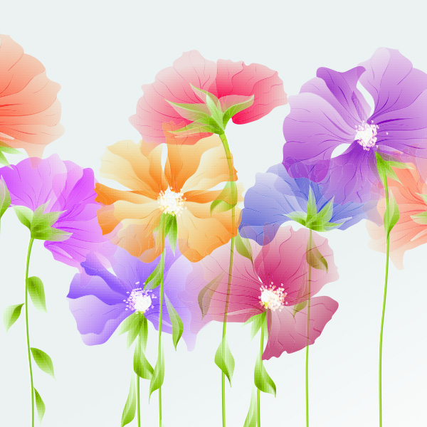 Dainty spring flowers vector background welovesolo dainty spring flowers vector background mightylinksfo Gallery