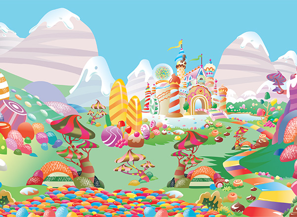 candy land world