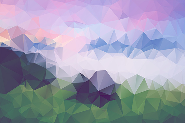 abstract polygonal colorful background - photo #24