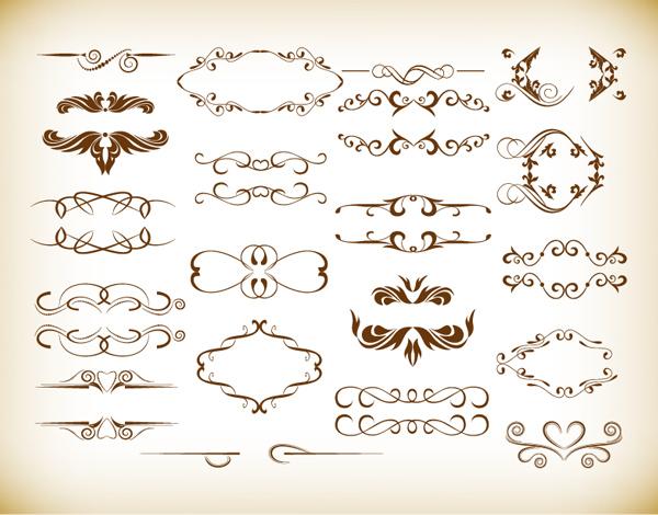 Vintage Scroll Design 87