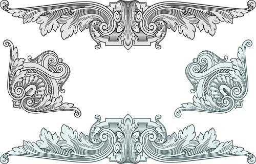 Classical medieval border frame vector 03 welovesolo stopboris Choice Image