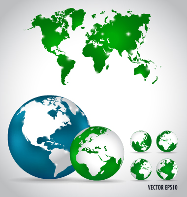world map world map vector earth