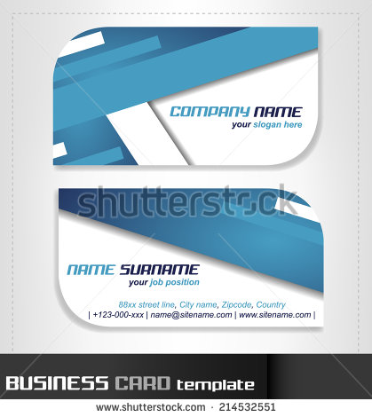 Rounded Business Card Template