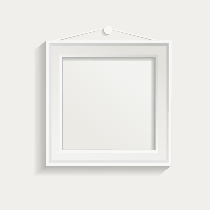 натуре фото белого квадрата в рамке сегодня