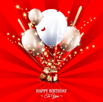 Happy Birthday Greeting Card Graphics Vector 02 Welovesolo