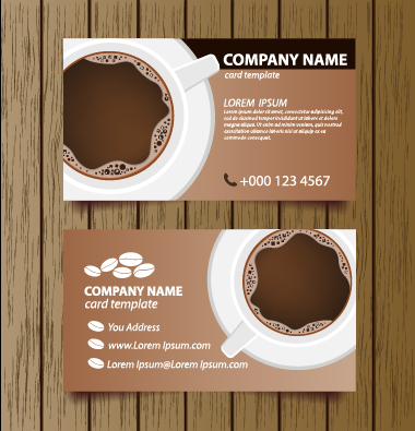 Creative coffee house business cards vector graphic 02 welovesolo house coffee house coffee business cards business friedricerecipe Image collections