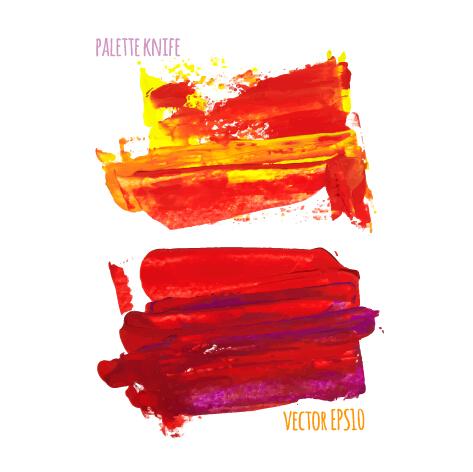 palette knife creative background vector background