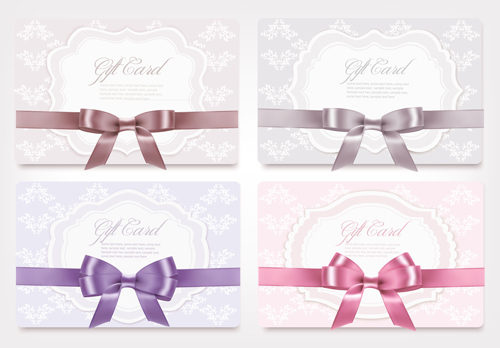 ribbon gift cards gift card gift exquisite cards card bow