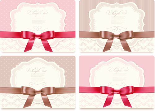 ribbon gift cards gift card exquisite bow