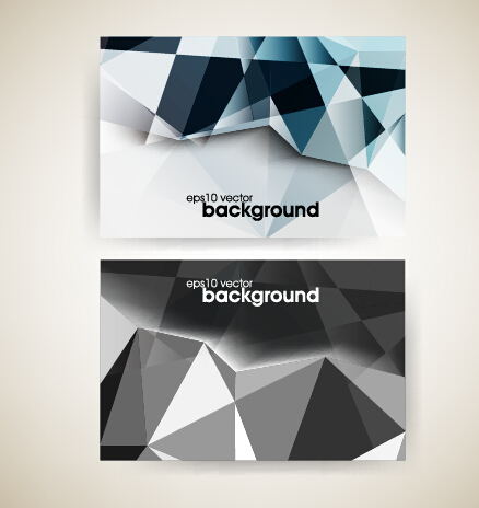 Abstract dark color wave background welovesolo for Business cards shapes