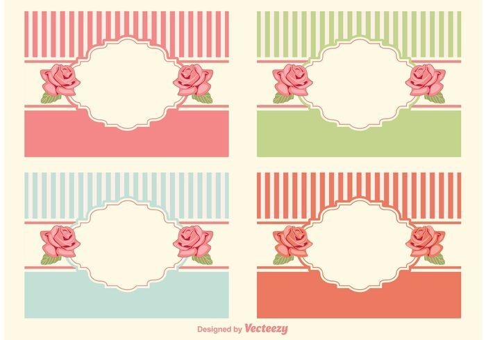 Shabby Chic Style Labels 139671