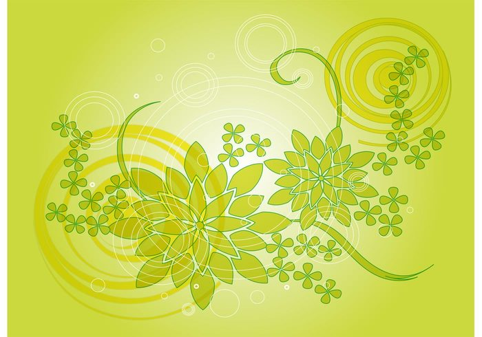 wallpaper vector background summer spring natural growth fresh flowers floral Backdrop vector backdrop
