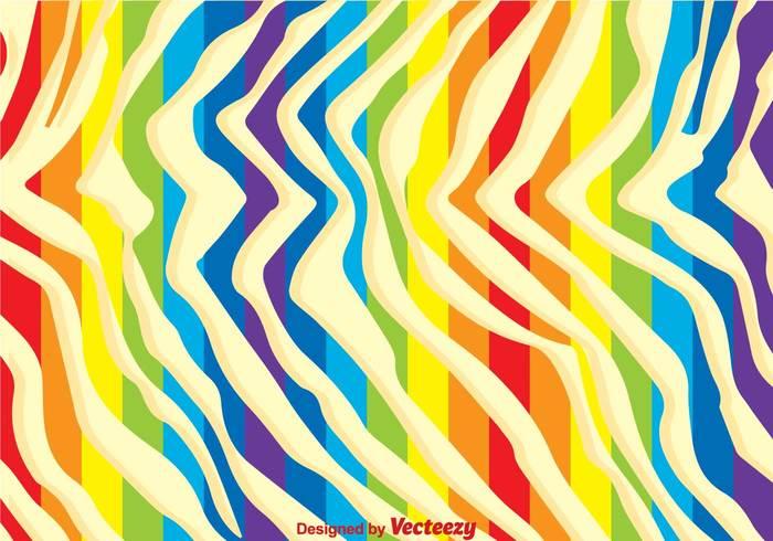Rainbow Zebra Print Background 142989 Welovesolo
