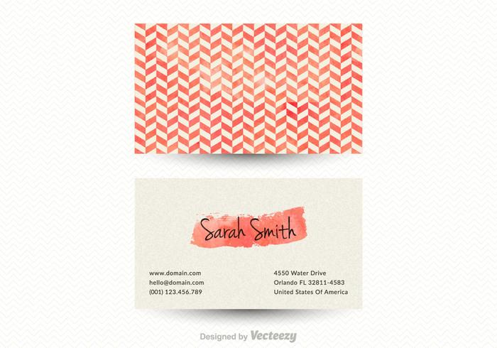 Free vector chevron business card template 109936 welovesolo colourmoves