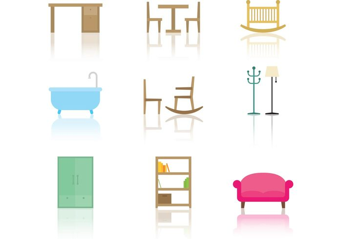 Furniture Vector Icons 146137 Welovesolo
