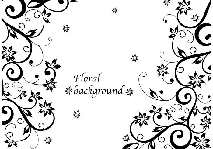 Floral Background Vector 142427 Welovesolo
