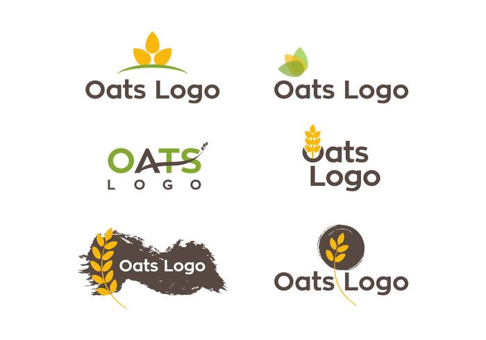 pack oats logo oats logotype logogram logo of oats logo icon