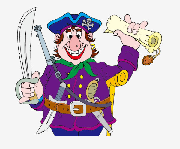 pirate funny cartoon