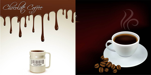 fine figure element coffee background