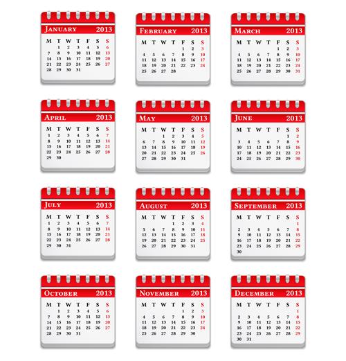 elements element creative calendars calendar 2013