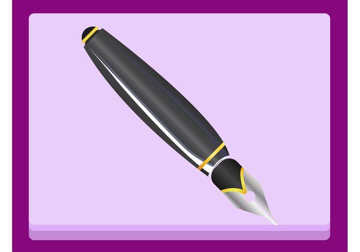 writing writer write Tibaldi stationery shiny Oscarson Montblanc metallic metal luxury logo ink pen icon expensive Dunhill Classic design