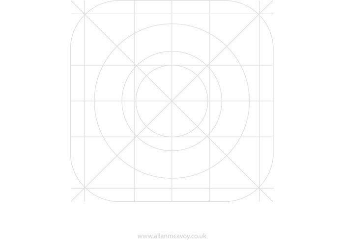 IOS7 App Icon Vector Grid 121111 - WeLoveSoLo