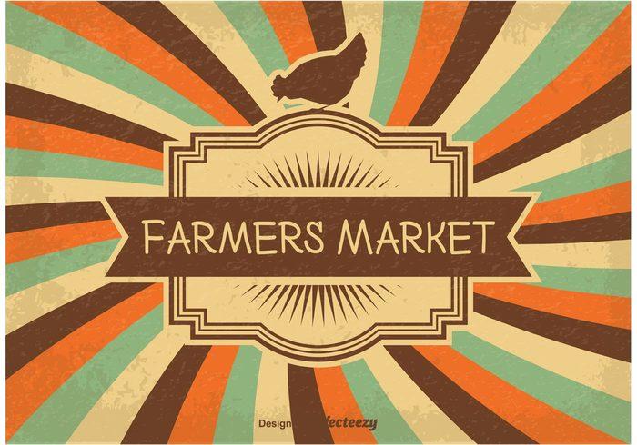 Vintage Farmers Market Illustration 126808 Welovesolo