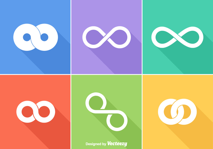 vector unity uninterrupted trendy trend technology symbol sign shape set round ring ribbon ornament looped loop logo line infinity infinite loop infinite illustration Idea icon graphic geometric flat eternity emblem element design cycle creative corporate Cooperation continuous connect concept collection business abstract
