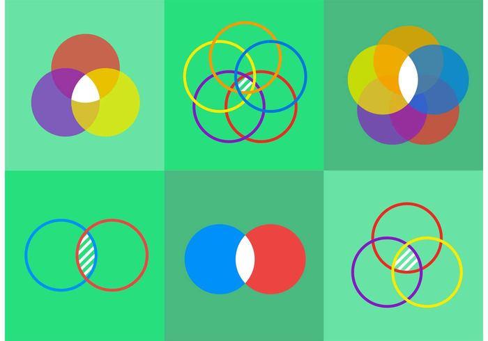 Venn Diagram Vector Icons 132297 Welovesolo