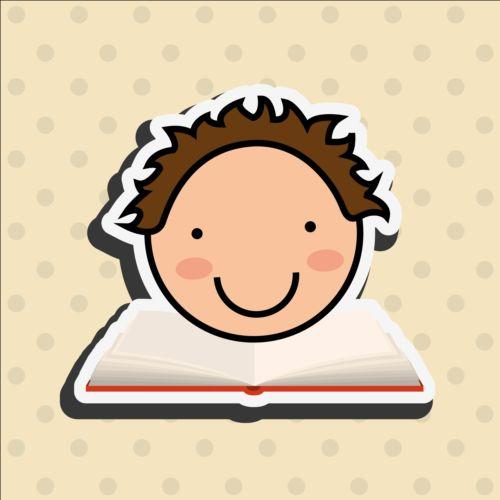 student sticker book