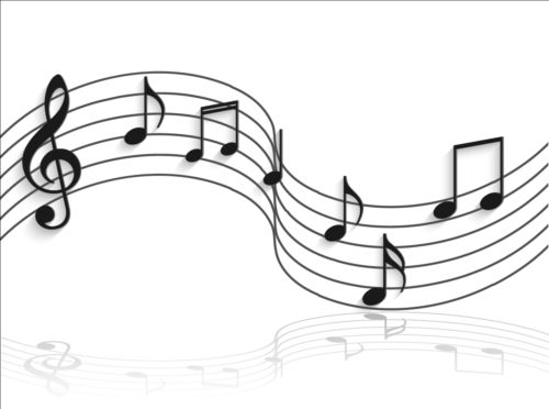 Music notes design elements set vector 08 - WeLoveSoLo