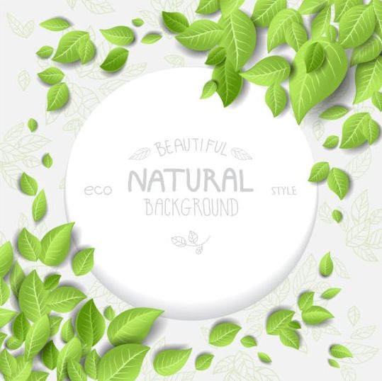 style natural eco background