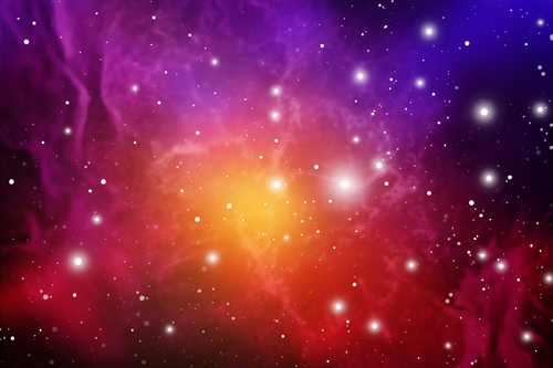 space outer blurs background