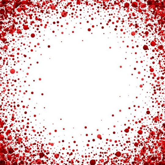 Red dots frame vectors 02 - WeLoveSoLo