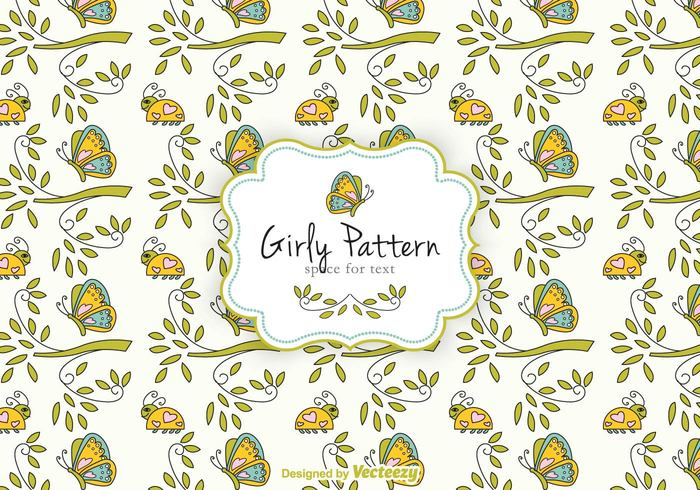 free girly pattern vector welovesolo