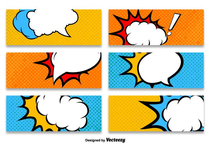 Cartoon Style Banner Vector Templates - WeLoveSoLo