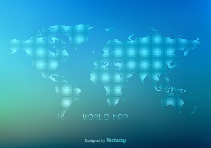 Free vector dotted world map welovesolo gumiabroncs Image collections