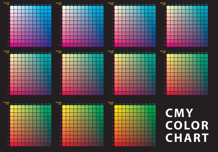 Cmy Color Chart Welovesolo