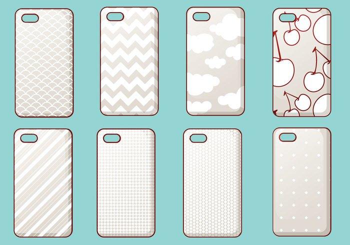 buy popular 19da1 2a1cf Trendy iPhone Case Vector Set - WeLoveSoLo