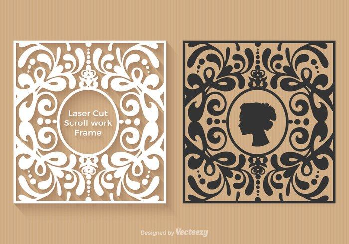 Free Laser Cut Vector Frames - WeLoveSoLo