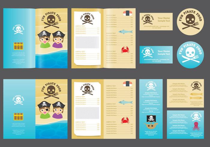 Pirate Kids Menu - WeLoveSoLo