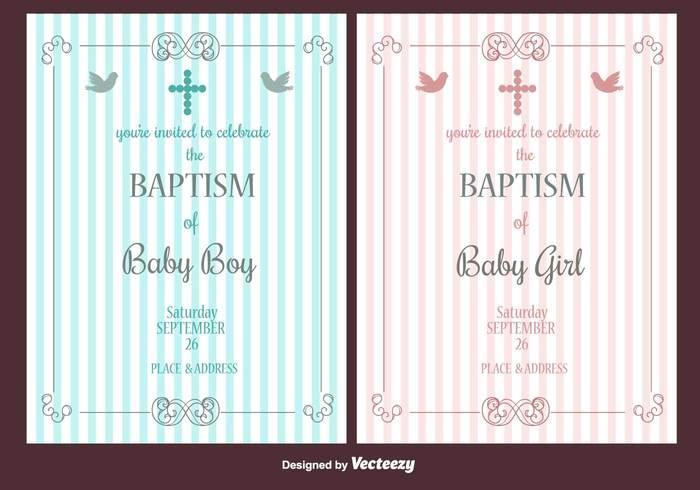 Baptism vector invitation 266825 welovesolo stopboris Image collections