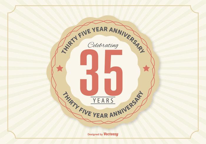 35 Year Anniversary Illustration Welovesolo