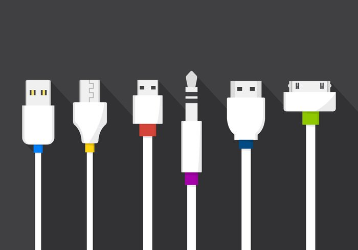 Vector Cable Plugs 265449 Welovesolo