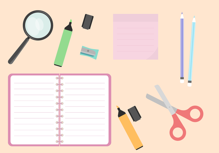 Free School Supplies Vector 265583 - WeLoveSoLo